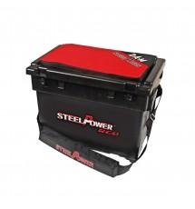 Коробка STEELPOWER RED BEACH BOX WITH TWO SIDE TRAYS
