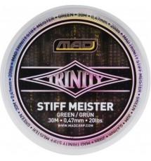 Поводочный Материал MAD TRINITY STIFF MEISTER 30m 0,47mm