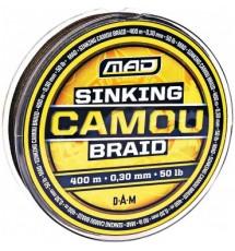 Тонущий Шнур MAD SINKING CAMOU BRAID 400 M 0,20 Mm