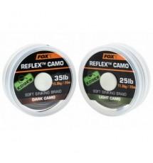 Поводочный Материал Fox EDGES REFLEX CAMO 20m DARK CAMO