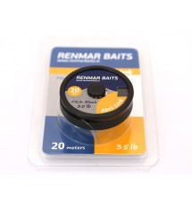 Поводочный материал Renmar Baits Abri -Link Pitch Black  20 m 35 lb