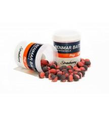 Renmar Baits pop - ups Strawberry 10 mm ( красно - черный  )