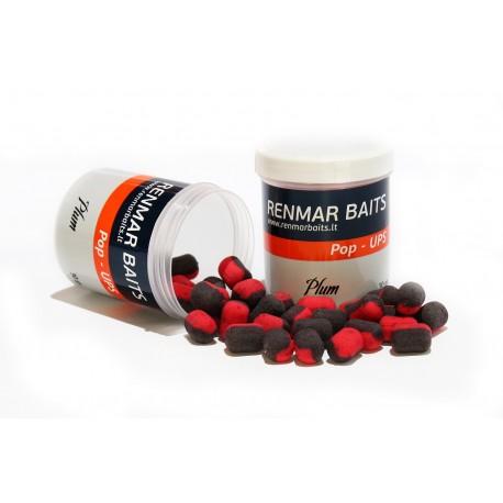 Renmar Baits pop - ups Plum 12 x 16 mm ( красно - черные )