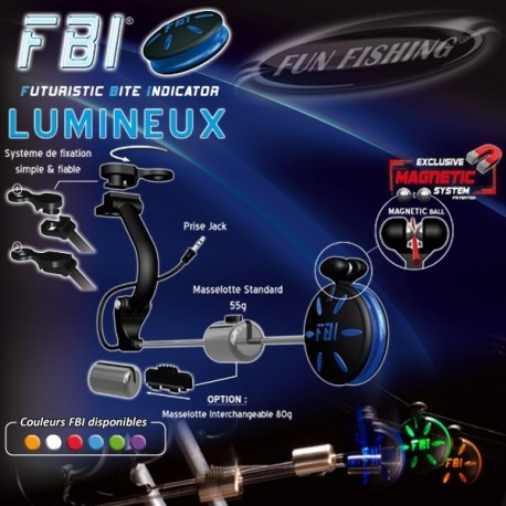 Fun Fishing Illuminated FBI Box of 4