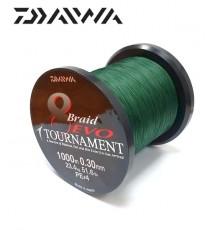 Плетеный Шнур Daiwa Tournament 8 Braid Evo 0.30mm 300m