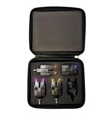 Набор Электронных Сигнализаторов Поклевки Flajzar FISHTRON NEON TX3 SET 4+1