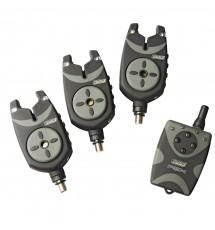 Набор Электронных Сигнализаторов Поклевки DAM MAD FSX G2 3+1 BITE ALARM