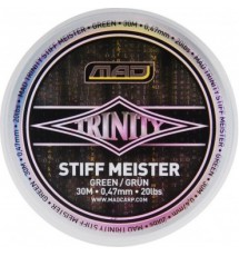 Поводочный Материал DAM MAD TRINITY STIFF MEISTER 30m 0,47mm