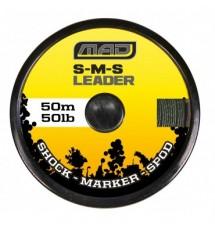 Стартовый Шнур DAM MAD S-M-S LEADER 50LB 50M