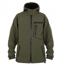 Fox Softshell Jacket Green & Black