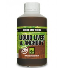 Rod Hutchinson Liquid Carp Food Liver & Anchovy 500 Ml