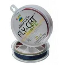 Шнур Spod&Marker NTEC FlyCat Multicolor 274м, 0.16мм, 20lb 9.0кг