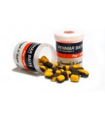 Renmar Baits pop-ups Pineapple N - butyric 12 x 16 мм ( желто - черные )