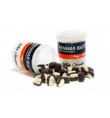 Renmar Baits pop - ups White Chocolate 12 x 16 mm ( бело - черный )
